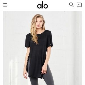 Brand new with tags. Alo Yoga top